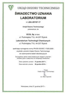 UDT_swiadectwo_uznania_laboratorium_01.2018